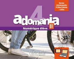 Adomania 4 : Manuel numérique élève (carte)