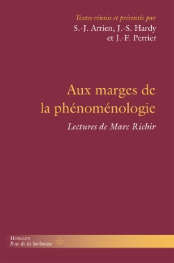 Aux marges de la phénoménologie: Lectures de Marc Richir Couverture du livre
