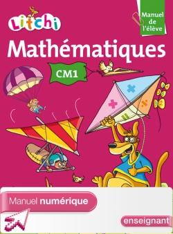 Litchi Mathématiques CM1 - Manuel numérique simple version enseignant - Ed. 2014