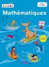 Litchi Mathématiques CE1 - Fichier numérique simple élève - Ed. 2016