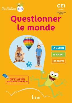 Les Cahiers Istra Questionner le monde CE1 - Cahier numérique simple enseignant - Ed. 2017