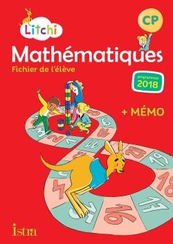 Litchi Mathématiques CP - Fichier élève numérique version élève - Ed. 2019