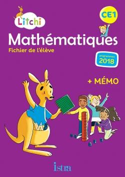 Litchi Mathématiques CE1 - Fichier élève numérique enseignant - Ed. 2019